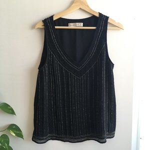 Abercrombie & Fitch Beaded Tank Top
